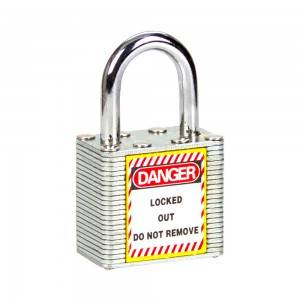 Laminated Steel Safety Padlock BD-8561