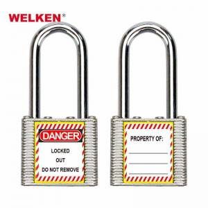 Laminated Steel Safety Padlock BD-8561 8565