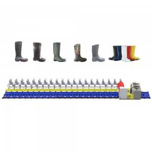 MT-18Y-1 PU Rain Boots Machine