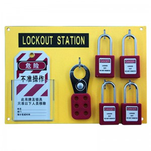 High definition 20pcs Safety Padlock Pc Durable Lockout Station (bd-b102)