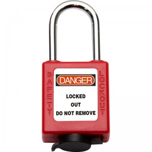 China Factory for Bo-g05 Newest Dust Proof Padlock With Stainless Steel Shackle