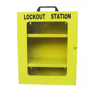 Wholesale OEM/ODM Tagout Lockout Station Management Lockout Station Metal Combination Lock Station