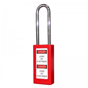 12 Years Manufacturer Long Lock Body Safety Padlock BD-8571 – National Safety Compliance Lopg-410 Lockout Tagout Kit