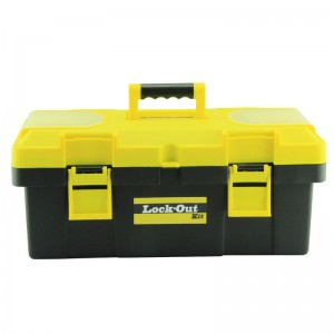 Fast delivery Key-retaining Portable Red Metal Lockout Box With Several Holes; Portable Group Lockout Box