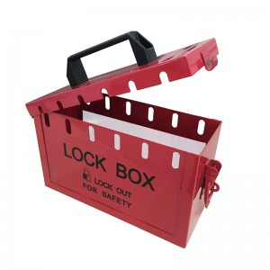 Portable Lockout Box BD-8813