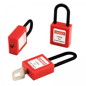 Insulation Plastic Padlock BD-8531