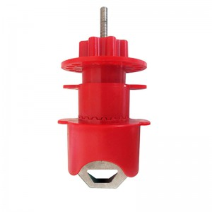 Manufactur standard Durable Polypropylene Adjustable Gate Valve Lockout