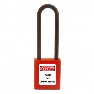 Nylon Body Safety Padlock BD-8535