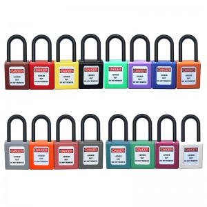 38mm Nylon Shackle Padlock BD-8531