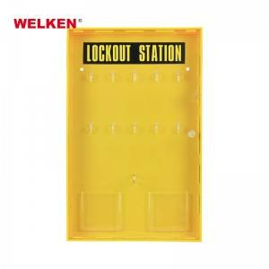 10 Padlock Station with Cover BD-8724