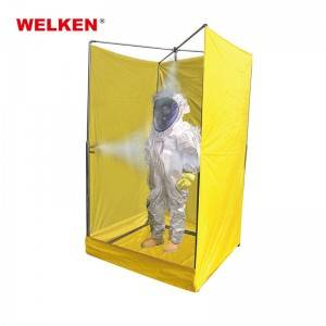 Rapid Response Portable Decontamination Shower BD-601