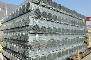 Hot Ituslob galvanized Steel Tubo