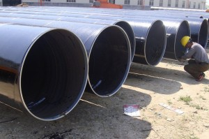 API 5L oleum Hardcover Delivery Welded Steel Pipe