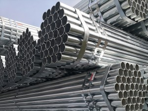 60MM SCH40 GI Steel Pipe Grooved Ends