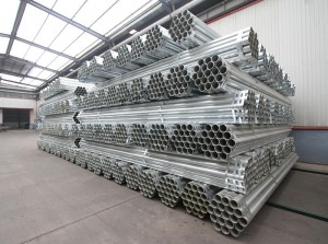 Gi pipe para Greenhouse Steel Pipe