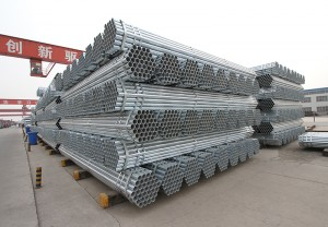 40MM GI Steel Pipe Factory Price