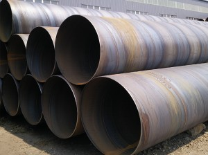 Large Diameter 1500mm SSAW Welded Steel Pipe