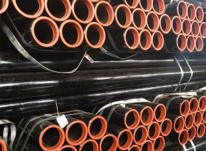 ASTM A53 Black Painted Welded Steel Pipe