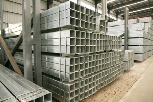 Galvanized Square, Irin Pipe
