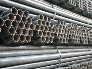 API 5L ASTM A53 Welded pro constructione Steel Pipe