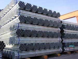 BS1387 Kelas B Galvanized Steel Pipe