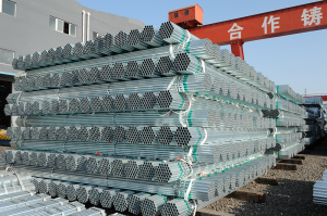 BS1387 Galvanized steel pipe with size 0.5inch to 6 inch