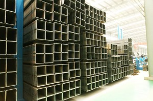 Square uye Rectangular Steel Pipe