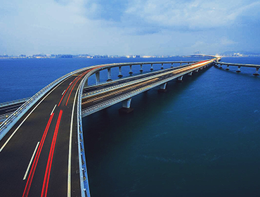 Jiaozhou Bay Bridge Cross-laut