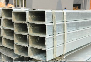 Galvanized Rectangular Hollow Steel Tube RHS Pipe