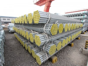 EN10255 Zinc Coated Galvanized Steel Pipe