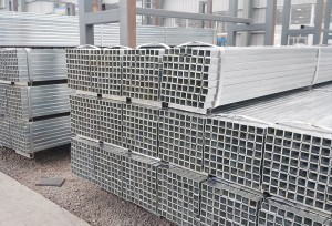 Youfa Brand Good Stock Zinc Coated Square And Rectangular Hollow Section Steel Tube