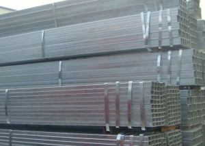 Galvanized Square Steel Pipe Zinc Coating Thickness 30um