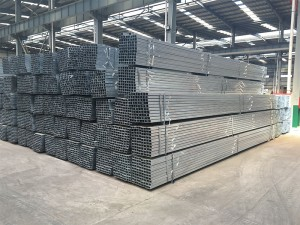 Low Carbon Steel Square Hollow Section Gi Pipe