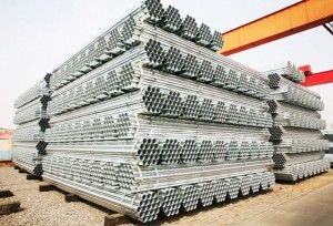 JIS G3444 STK400 Galvanized carbon steel pipe