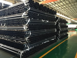 API 5L ASTM A53 SCH40 Black Painted Welded Steel Pipe