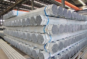 Galvanized Round Steel Pipe Threaded Conduit Pipe