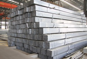 Zinc Coated Galvanized Steel Square and Rectangular Tube
