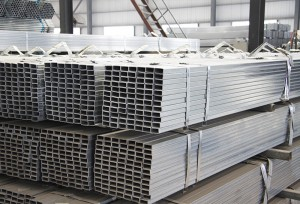 Light Weight Thin Wall Galvanized Square and Rectangular Steel Pipe