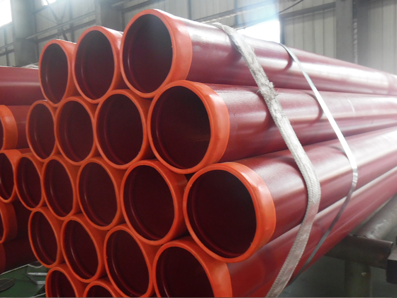 Ral3000 ASTM A795 Grooved Ends Fire Protection Steel Pipe Featured Image