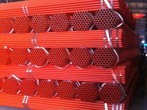 UL FM Atestilo Fire Sprinkler Steel Pipe