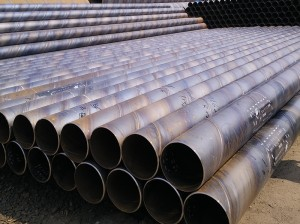 Small Size 219mm Sawl Spiral Welded Steel Pipe