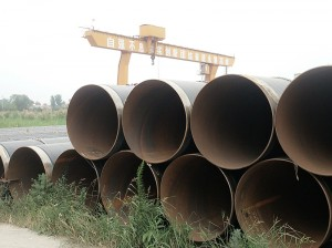 FBE 3PE Carbon Steel Material Grade B SSAW Steel Pipe