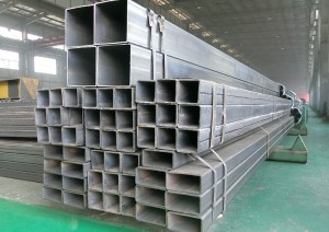Q355 S355 Square and Rectangular Steel Pipe Price Per Piece
