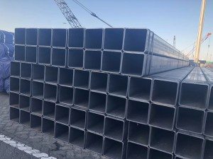 Construction Material Square and Rectangular Structural Steel Pipe