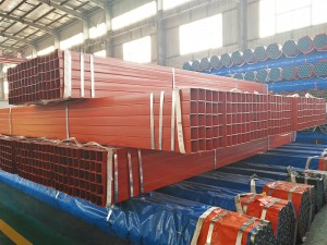Color Painted Square and Rectangular Steel Pipe