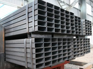 JIS G3466 SS400 Square at Parihabang Steel Pipe