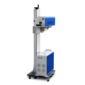 30W CO2 Laser Marking Machine Marble