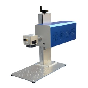 20W CO2 Laser Marking Machine Leather