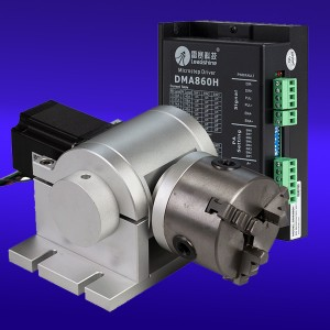 Rotary Axis Attachment  for Laser Machine