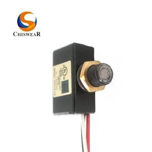 100-120VAC Hardwired Button Photo Eye Switch